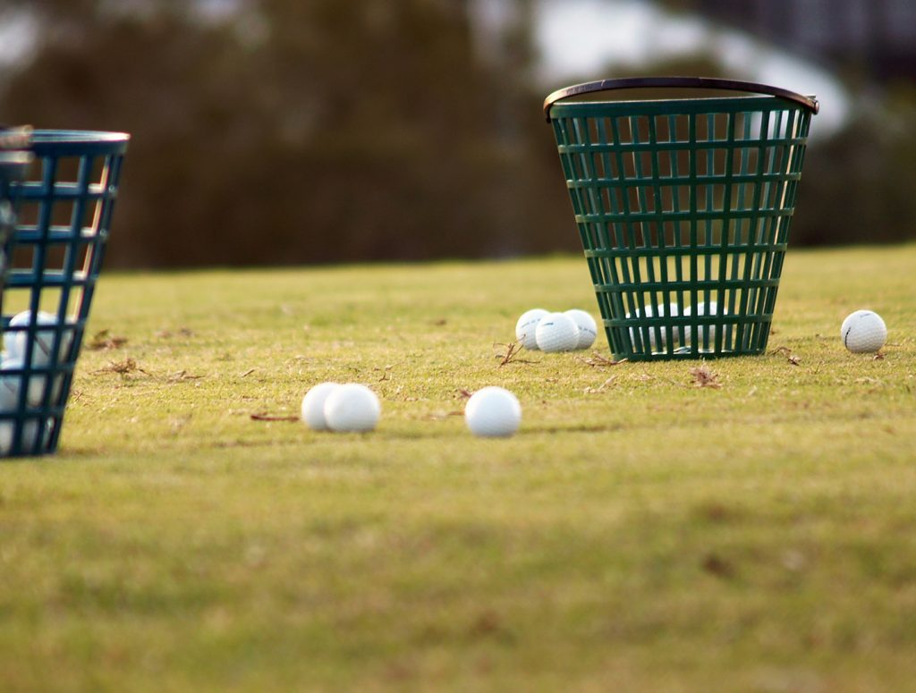 golf balls basket